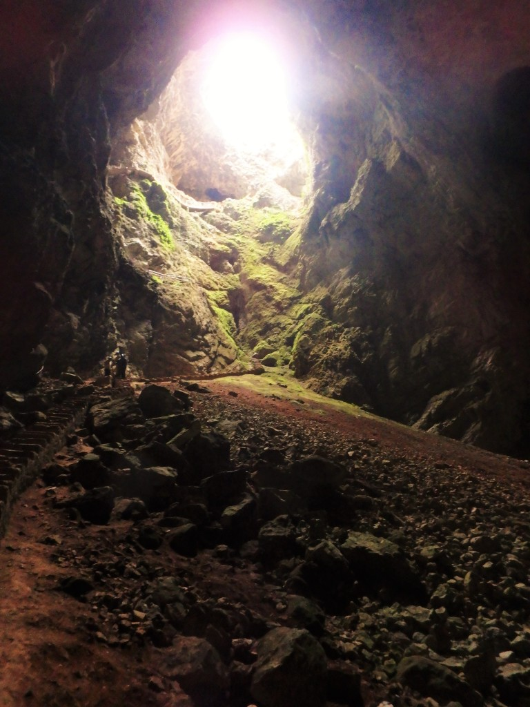 The Friouato Caves were originally discovered by French adventurer Norbet Casteret in 1969 when he came across the opening featured here.