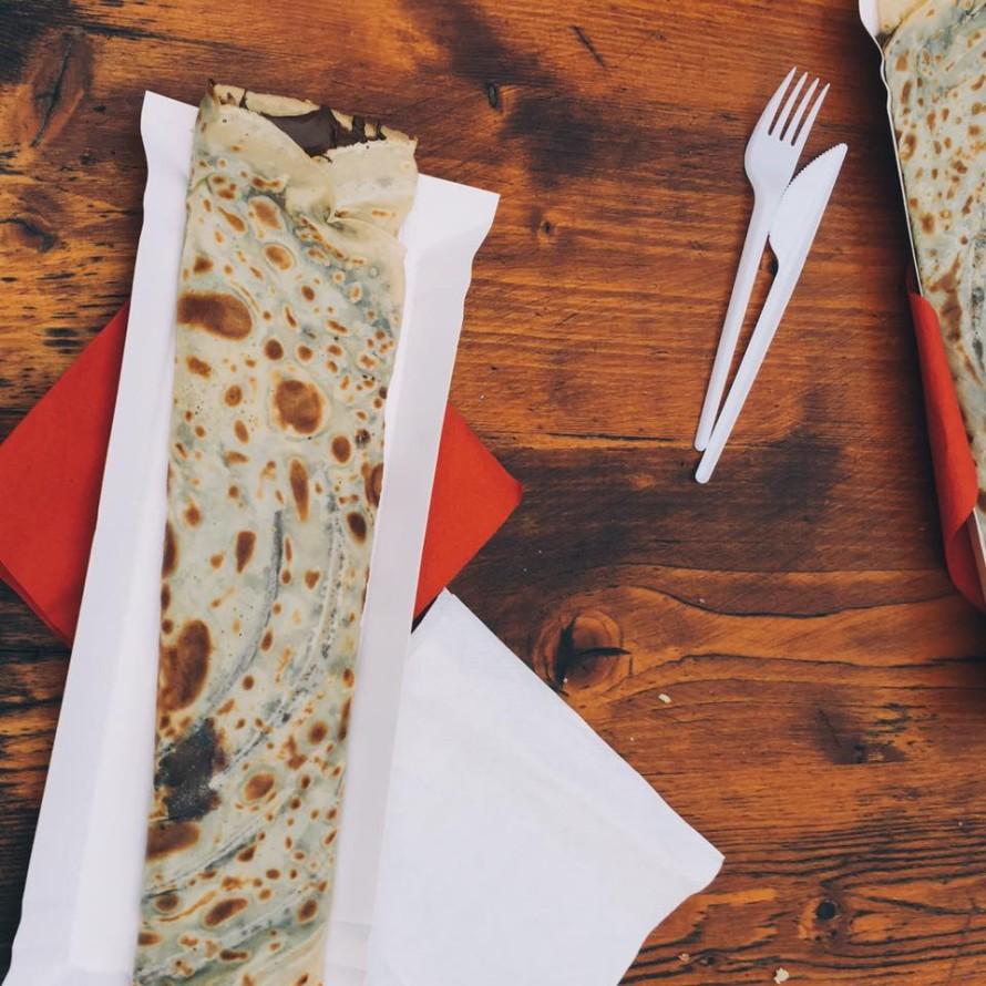 You cannot forget to grab a crepe in Old Town Square