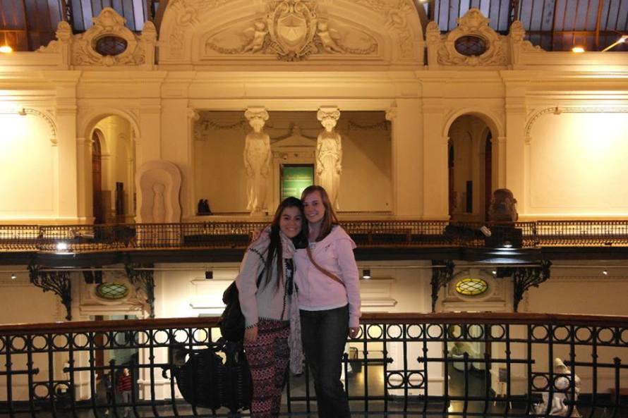 Sachy and I at Palacio of Bellas Artes.