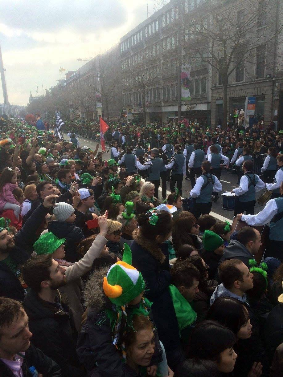 Dublin Parade on St. Paddy's Day