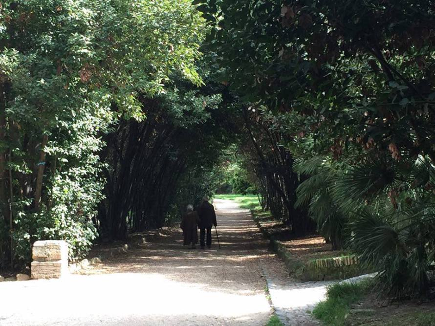 Park, Rome, Italy, Mezza- Photo Two