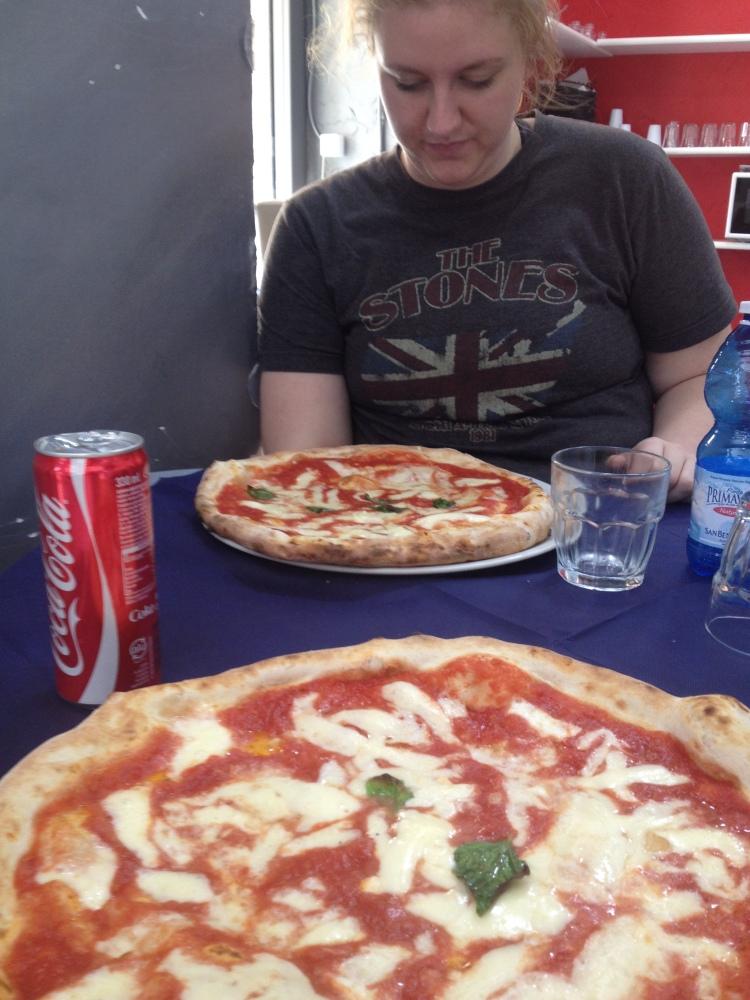 Pizzaria, Naples, Italy, Mezza- Photo One