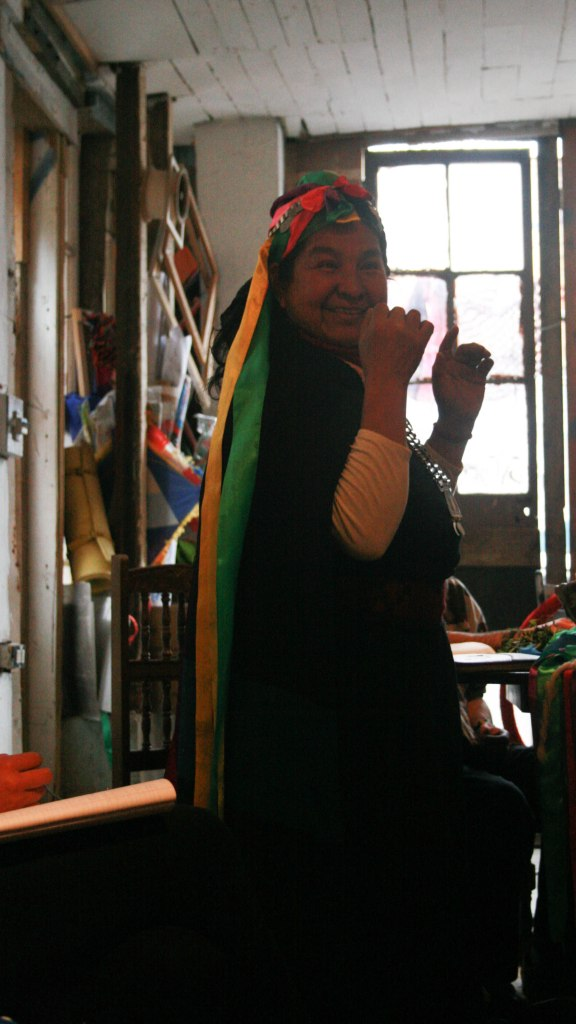 Ñaña Juana's excitement and sense of humor is contagious. Photo by Lisa Delao.