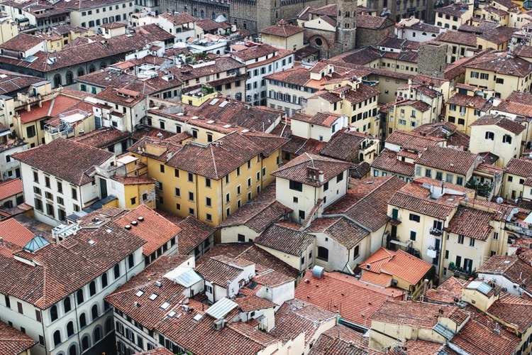 Florence from above, taken at Giotto's Campanile
