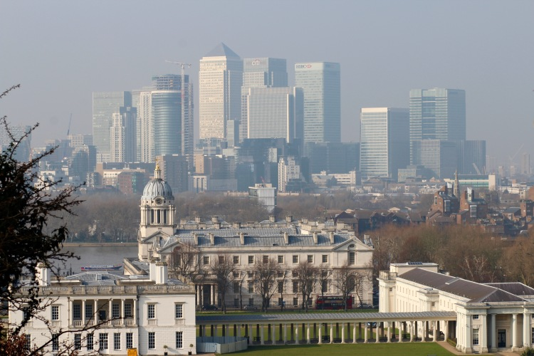 The view from the Royal Observatory!