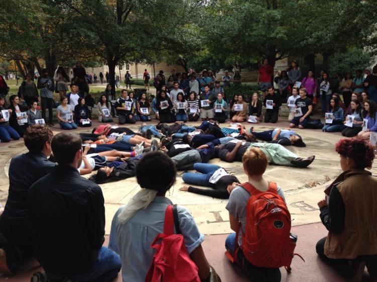 Student 'Die In' - Austin, Texas - Sloan - Photo 4