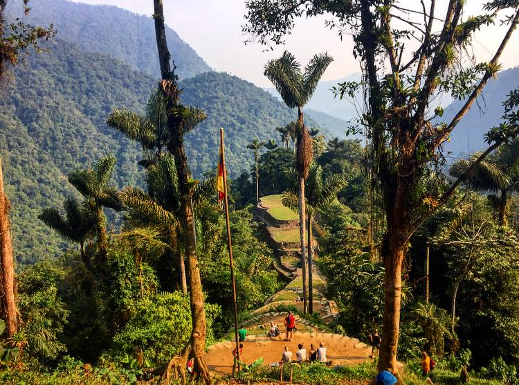 Hike to La Ciudad Perdida (The Lost City). A 4 day hike through the Sierra Nevada in all of the elements, bringing with you as much as you can carry. An incredibly humbling experience. I have never appreciated a shower so much in my life.