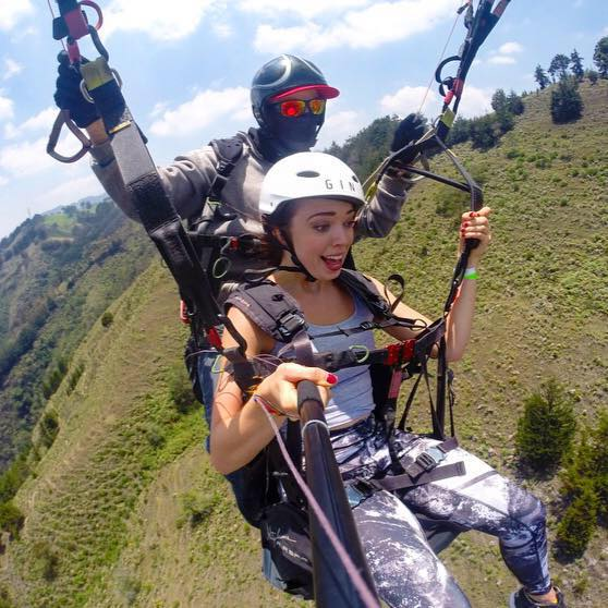 An amazing experience paragliding in Medellin to check off the bucket list!
