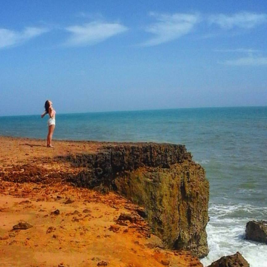 Cliffs in La Guajira.