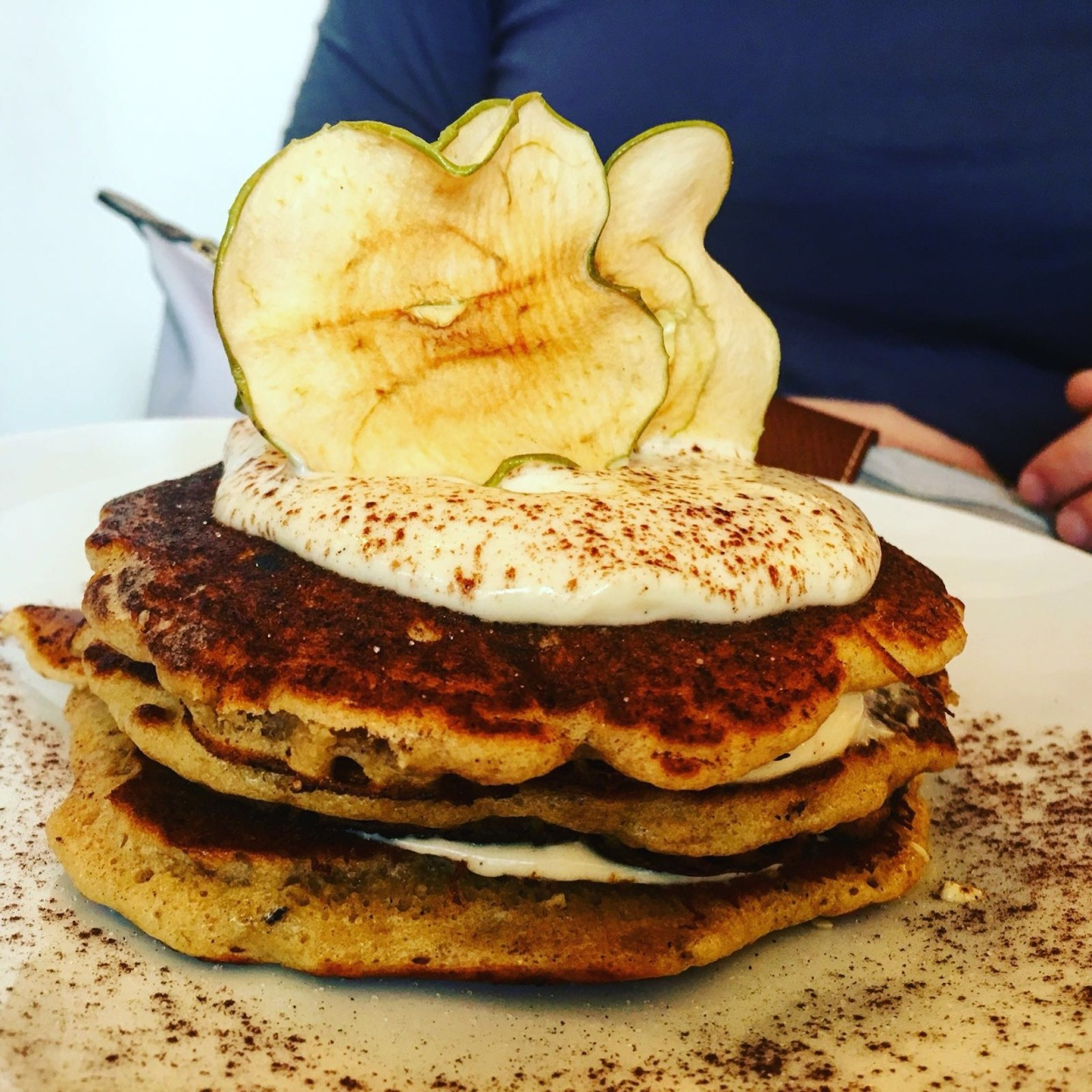 Carrot cake pancakes - Why not?