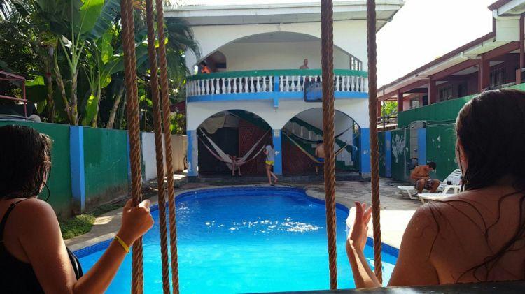 Hotel de Haan in Jaco, Costa Rica.