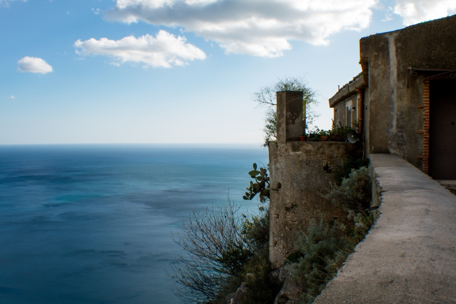 Seascape from the Madonna della Rocca.