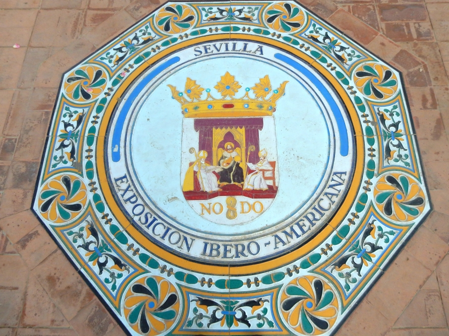 I love the tiles and ceramics at the Plaza de España.