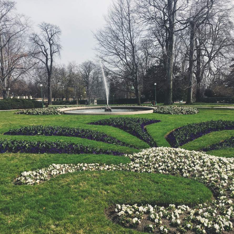 The gardens by the Prague Castle are must sees in the spring