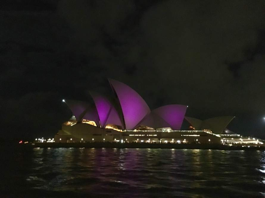 Passing the Sydney Opera House weekly will never get old.
