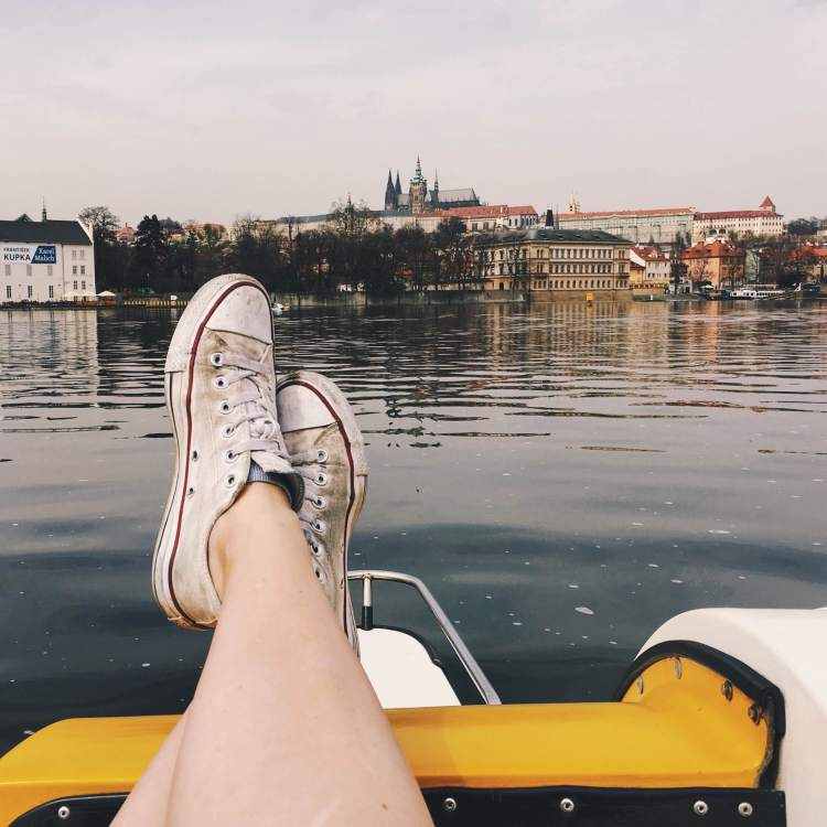 Sometimes a float on the water is the best medicine, the view doesn't hurt either