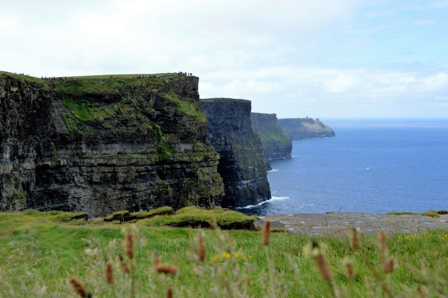 Cliffs of Moher: my suggestion when visiting is to take the path that goes to the right. I personally think the view is better from that side.