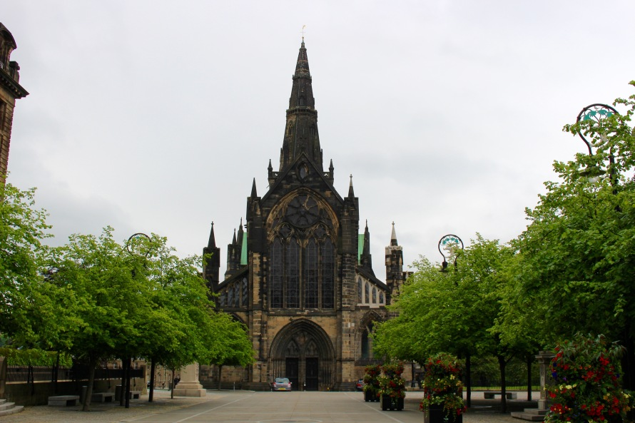 This is the Glasgow Cathedral in the heart of the city, which I enjoyed thoroughly! We got to look around inside and see the historical archives of the nation.