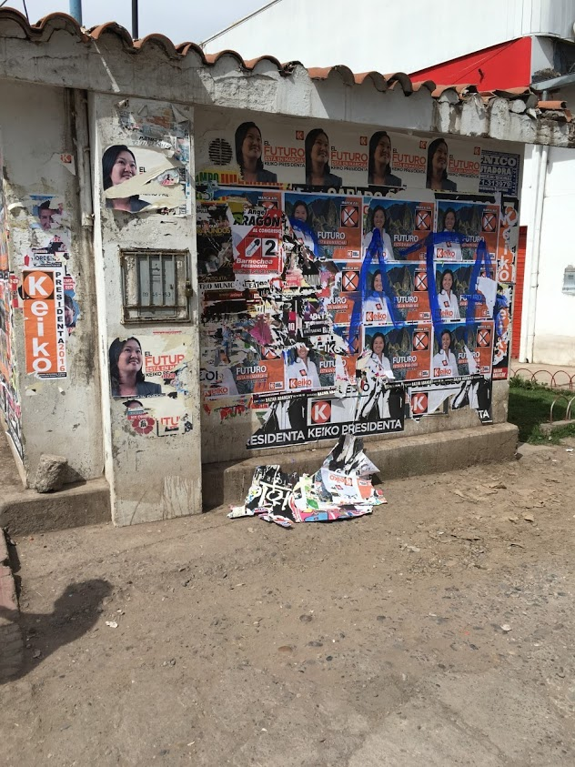 Political Propaganda,Cusco, Peru, Conley-Photo 1