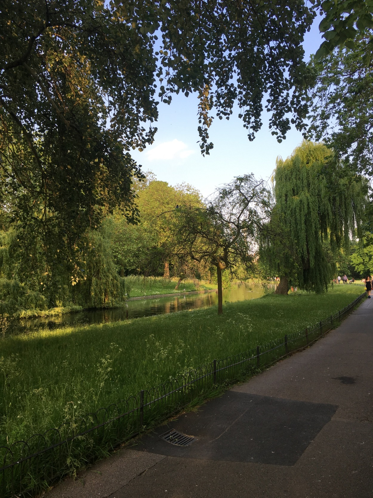This park, Regent's Park, is right outside my flat! It was a beautiful day for a walk.