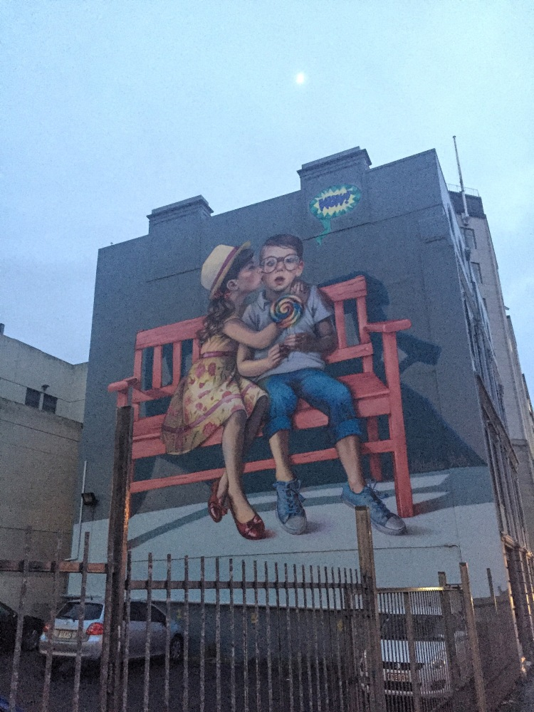 Street Art, Dunedin NZ- Grant-2