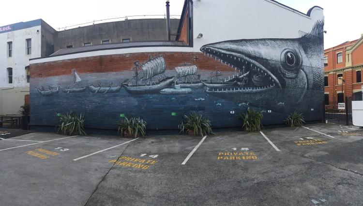 Street Art, Dunedin NZ- Grant-3