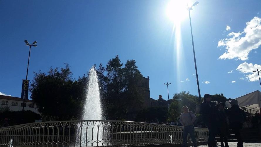 A sunny day in La Plaza de Armas!