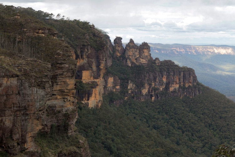 The Three Sisters - unusual rock formation or something more?