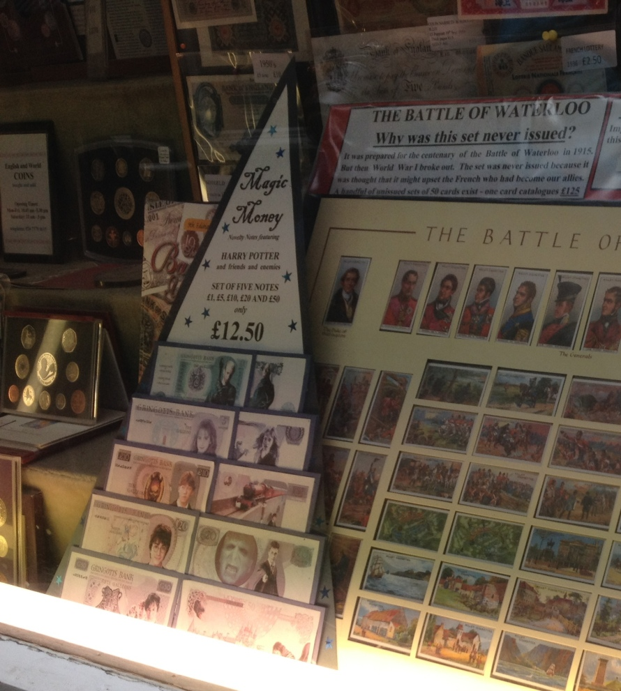 This is some of the Harry Potter cash you can purchase from The Colin Narbeth and Son LTd. store.