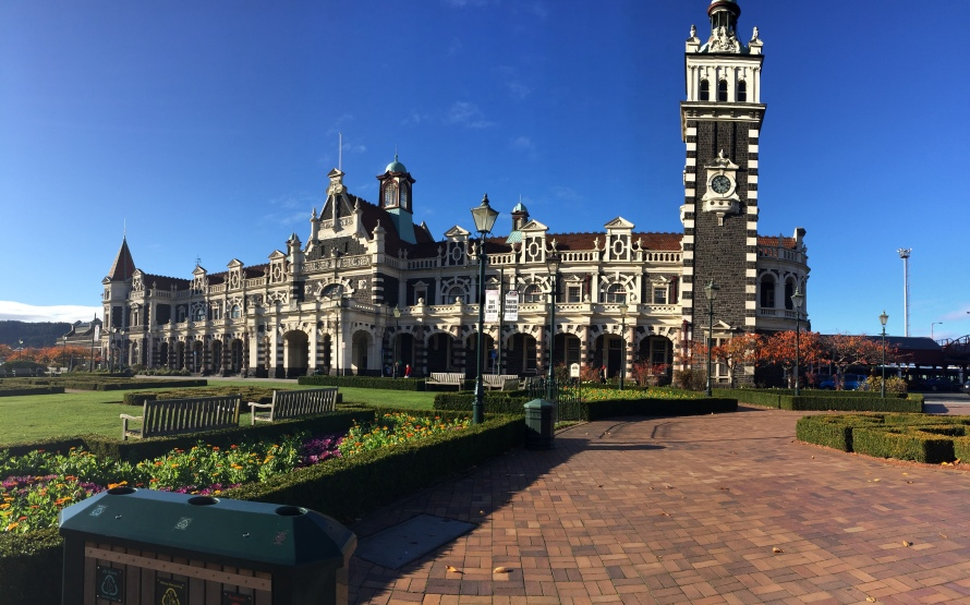 Dunedin Railway Station- Dunedin, New Zealand -Grant, Photo 2