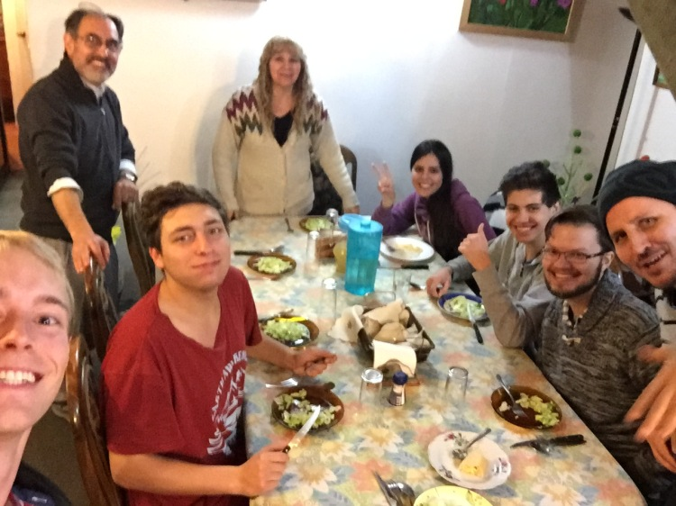 My extended Chilean family.