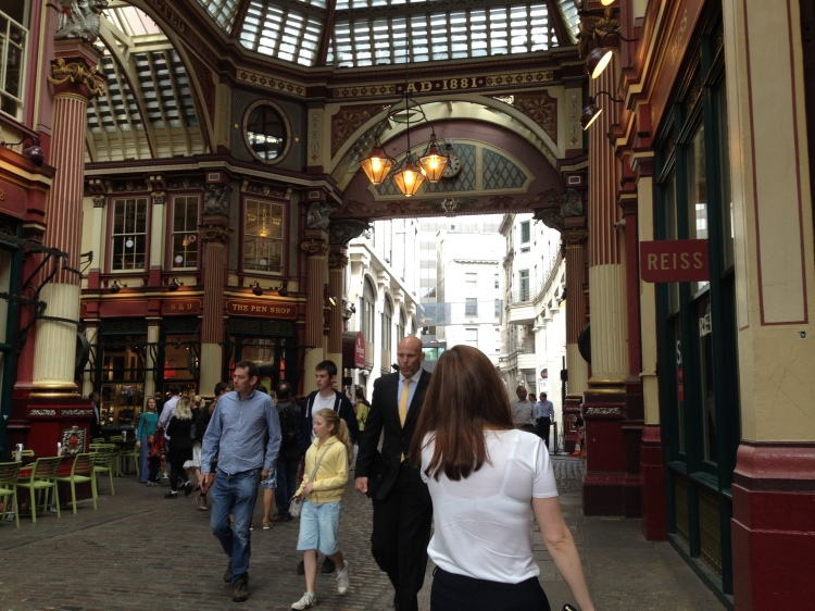 The beautiful Victorian arcade is a seemingly secluded area from the main hub of the City, offering a few nice stores and pubs.
