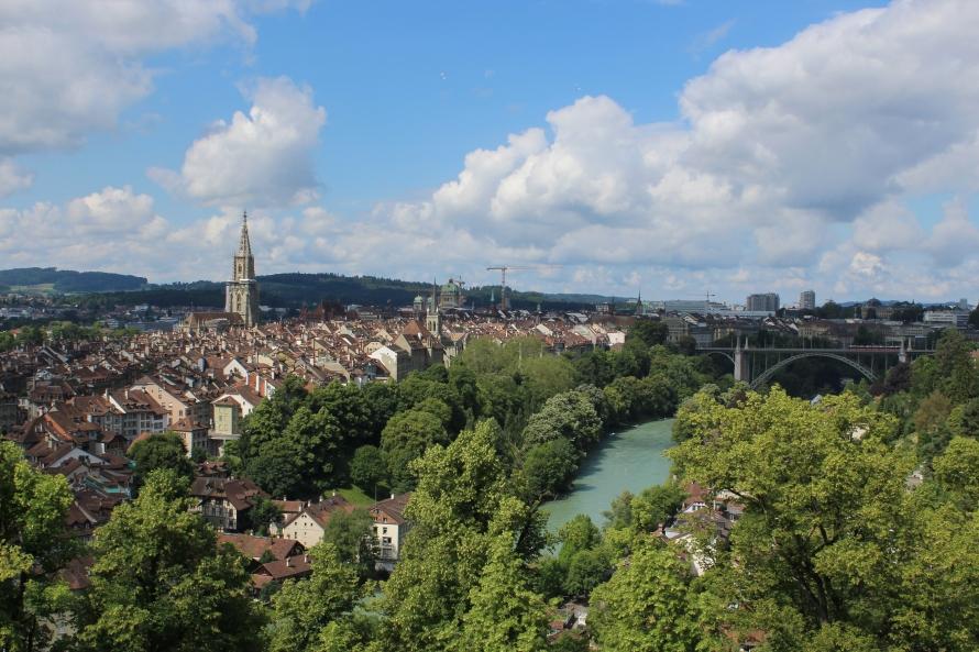 Rose garden view, Bern, Switzerland - Jerman - Photo 2