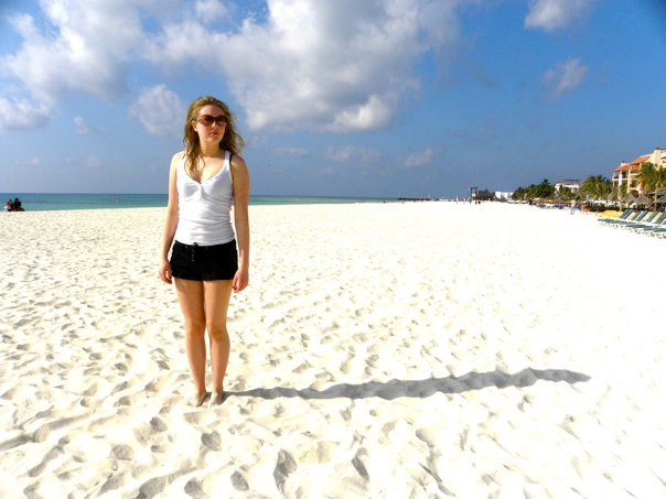 Even six years ago Playa Del Carmen's Beaches were practically deserted during Spring Break season!