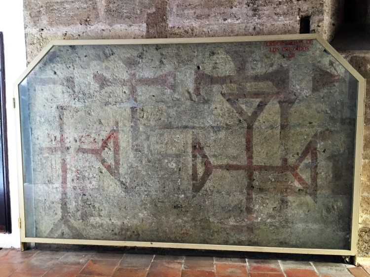 Original crosses from the Crusades