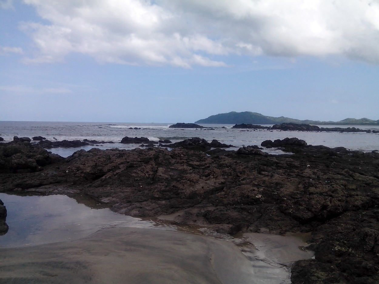 Here's a picture from my first ISA excursion to Tamarindo Beach