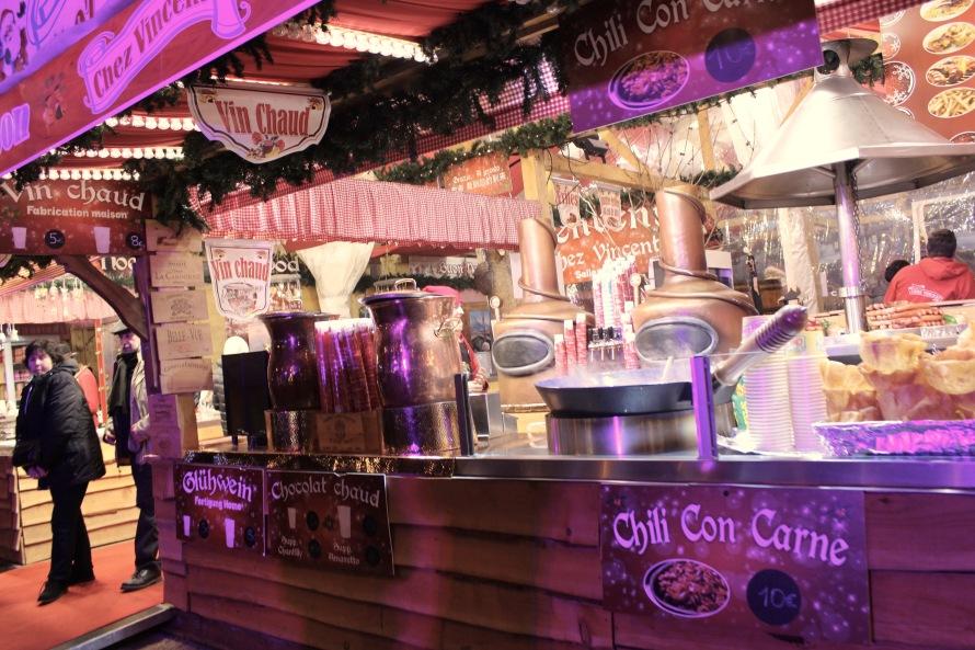Food Stall at Marché de Noël