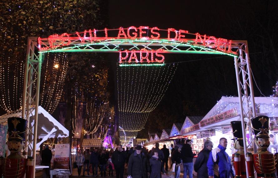 Entrance to the Marché de Noel