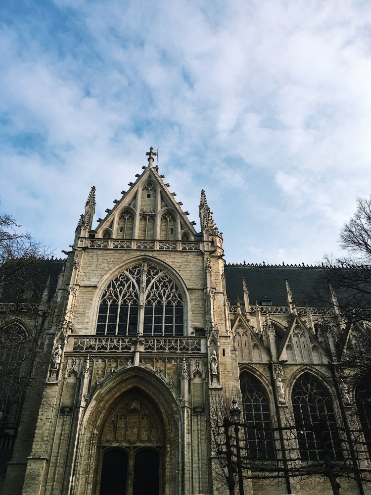 Just a casual cathedral I ran into on my Sunday stroll.