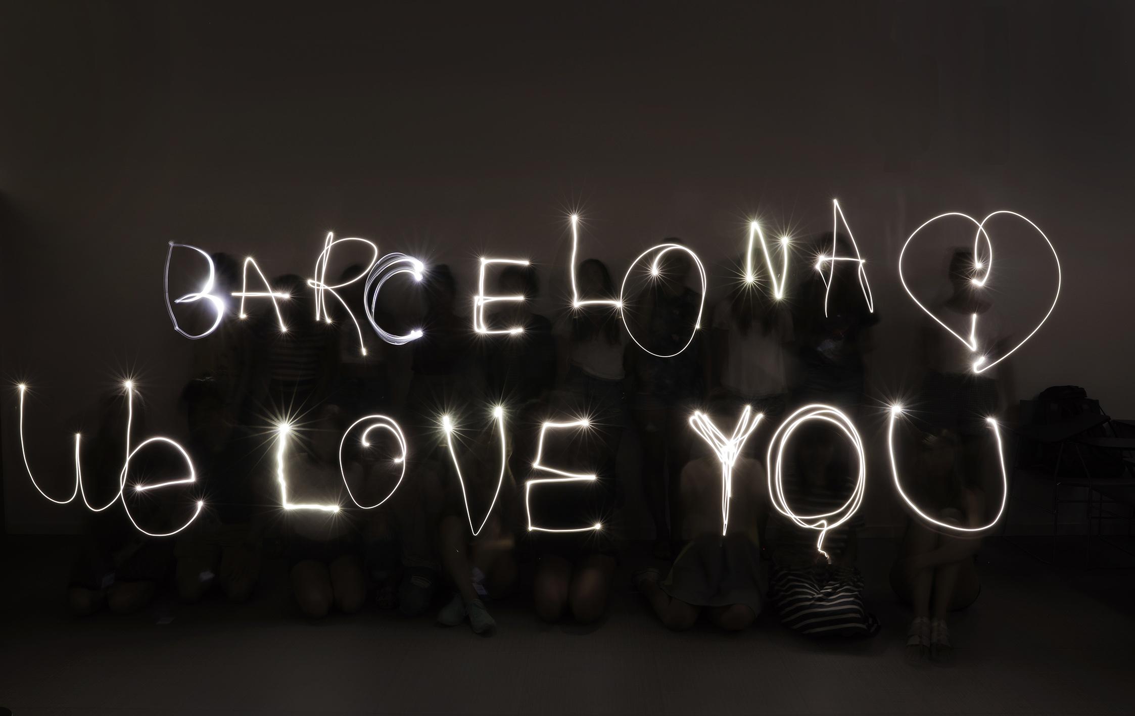 Barcelona, love you