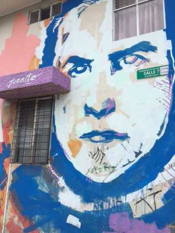 "Presidential Mural of ""Juanito"""