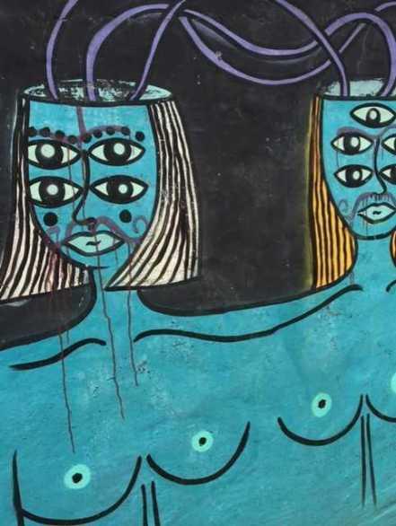 Mural Street Art in Playa Viquez